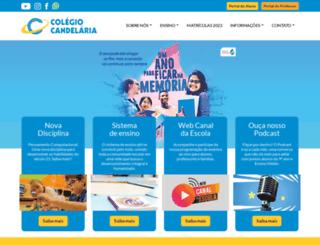colegiocandelaria.com.br screenshot