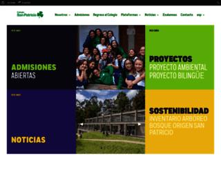 colegiodesanpatricio.edu.co screenshot