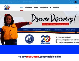colegiodiscovery.edu.mx screenshot