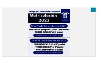 colegioimmaculee.edu.py screenshot