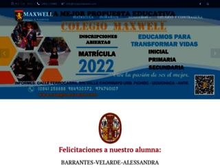 colegiomaxwell.com screenshot