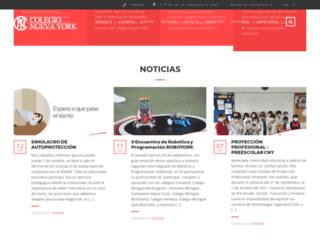 colegionuevayork.edu.co screenshot