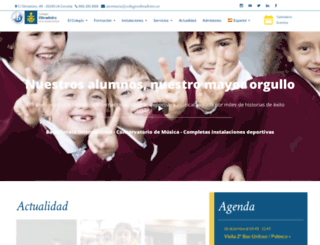 colegioobradoiro.es screenshot