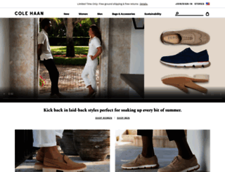 colehaan.com screenshot