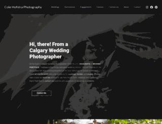 colehofstra.com screenshot