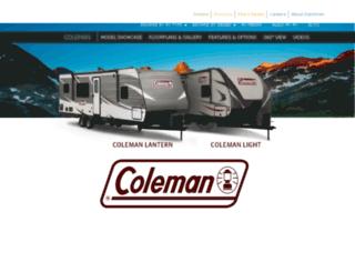 coleman-rv.com screenshot