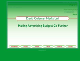 colemanmedia.co.uk screenshot