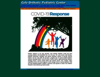 coleopc.com screenshot