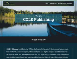 colepublishing.com screenshot