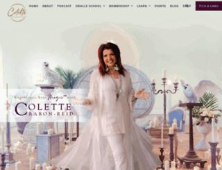 colettebaronreid.com screenshot