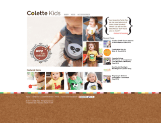 colettekids.com screenshot