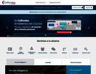 colfondos.com.co screenshot