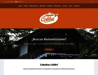 colibricostarica.com screenshot