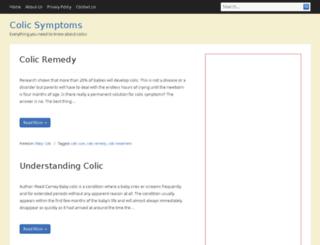 colicsymptoms.net screenshot