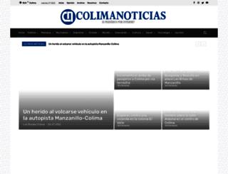 colimanoticias.com screenshot