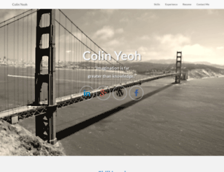 colinyeoh.com screenshot