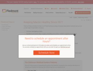 coliseumhealthsystem.com screenshot