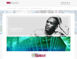 collabitat.umsl.edu screenshot
