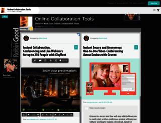 collaborationtools.masternewmedia.org screenshot