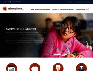 collaborative.org screenshot