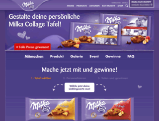 collage.milka.de screenshot