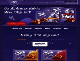 collage.milka.de screenshot