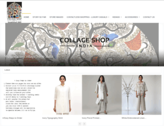 collageshopindia.com screenshot