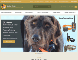 collarclinic.com screenshot