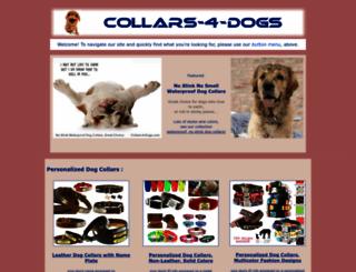 collars-4-dogs.com screenshot