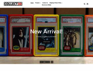 collect3d.com screenshot