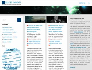 collectedthoughts.com screenshot