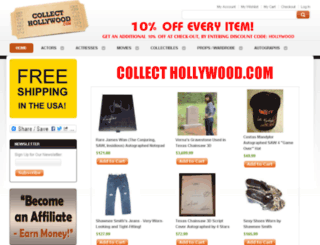 collecthollywood.com screenshot