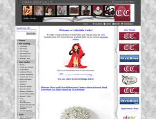 collectiblecache.com screenshot