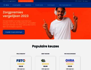 collectievezorgverzekering.nl screenshot