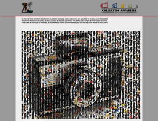 collection-appareils.fr screenshot
