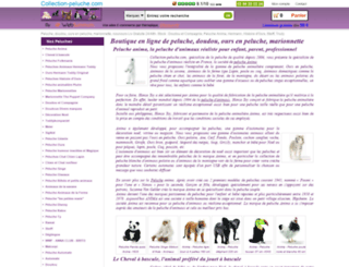 collection-peluche.com screenshot
