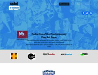 collectionofthefame.net screenshot