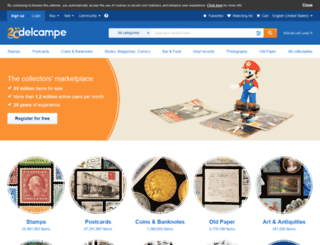 collections.delcampe.de screenshot