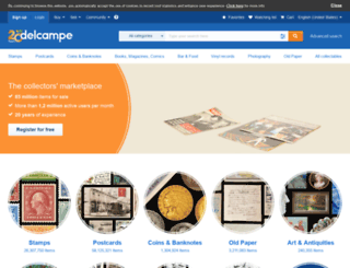 collections.delcampe.fr screenshot