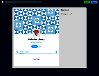 collectivehistory.tumblr.com screenshot