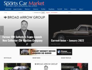 collectorcarpricetracker.com screenshot