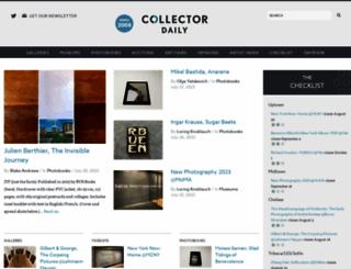 collectordaily.com screenshot