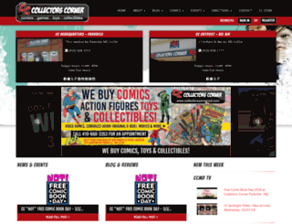 collectorscornermd.com screenshot