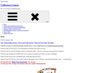 collectorscourse.com screenshot