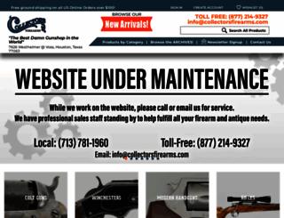collectorsfirearms.com screenshot