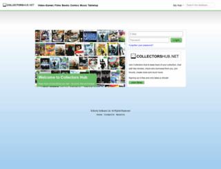 collectorshub.net screenshot