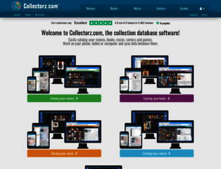 collectorz.com screenshot