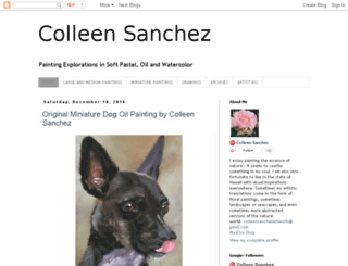 colleensanchez.blogspot.com screenshot
