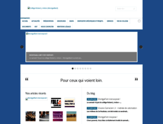 college-montgaillard.ac-reunion.fr screenshot