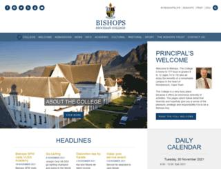 college.bishops.org.za screenshot